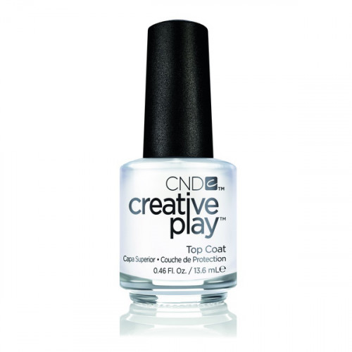 CND CREATIVE PLAY Top Coat (Верхнее покрытие) 13,6 мл.