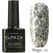 Гель-лак ELPAZA MAGIC STARS №3-Сияние звезд