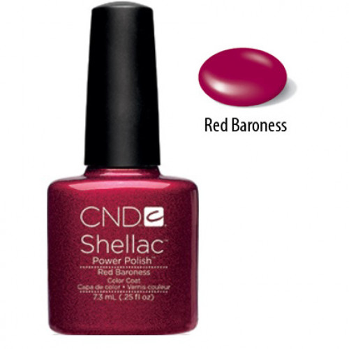CND Shellac # 009 (Red Baroness) 7,3 мл