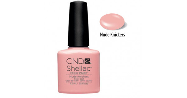 CND Shellac - Nude Knickers (7.3 ml) - Nicely Polished