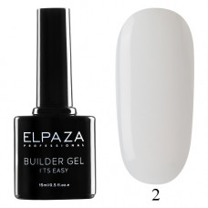 Гель Builder Gel It's Easy №2 (15 гр.) ELPAZA