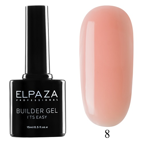 Гель Builder Gel It's Easy №8 (15 гр.) ELPAZA
