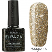 Гель-лак ELPAZA MAGIC STARS №16-Белое золото